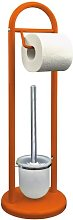 Gass Free-Standing Toilet Brush and Holder Symple