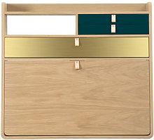 Gaston Wall writing desk - / L 80 x H 72 cm - Oak