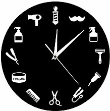 GAVA Kitchen clock Barber Shop Wall Clock Modern
