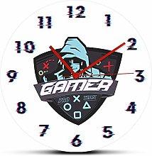 GAVA Kitchen clock Printed QUARTZ Wall Clocks for