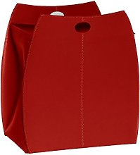 Gavemo Alessio Basket in Leather Red, with