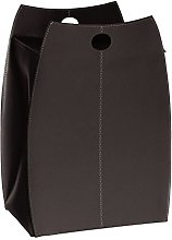Gavemo Paul Basket in Leather Dark Brown, with