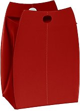 Gavemo Paul Basket in Leather Red, with Removable
