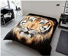 Gaveno Cavailia 3D Animal Printed Tiger Face Brown