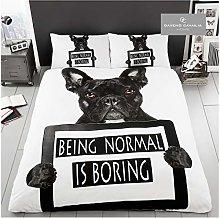 Gaveno Cavailia Animal Print 3D Bull Dog King