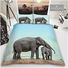 Gaveno Cavailia Animal Print 3D Elephant Double