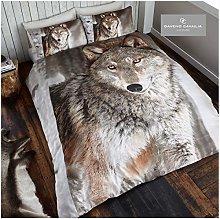 Gaveno Cavailia Animal Print 3D Wolf King Duvet