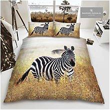 Gaveno Cavailia Animal Print 3D Zebra King Duvet