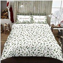 GAVENO CAVAILIA Care Christmas Honestly Leaf Duvet
