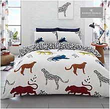 Gaveno Cavailia Cheetah Print Duvet Set Double
