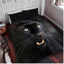 GAVENO CAVAILIA Easy Care Black Panther Duvet
