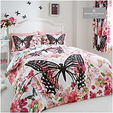 GAVENO CAVAILIA Easy Care Floral Butterfly Duvet