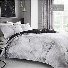 GAVENO CAVAILIA Easy Care Marble Duvet Cover,