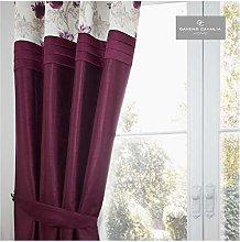Gaveno Cavailia Eyelet KOH Door Curtain Aubergine,