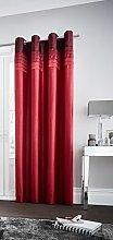 Gaveno Cavailia Eyelet La Moda Door Curtain Red,