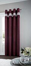 Gaveno Cavailia Eyelet Oxy Door Curtain Aubergine,