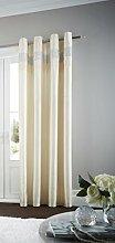 Gaveno Cavailia Eyelet Oxy Door Curtain Cream,