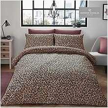 Gaveno Cavailia Leopard Skin Duvet Set Double