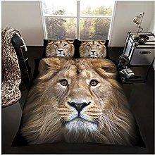 GAVENO CAVAILIA Premium Wildlife 3D Lion Duvet