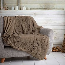 GAVENO CAVAILIA Teddy Throws Sofa Bed Cosy