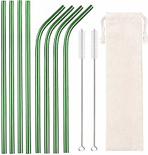 GAX 10 Colors Reusable Drinking Straw Eco-Friendly