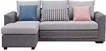 GAXQFEI 3 Seaters Living Room Convertible Corner