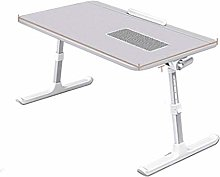 GAXQFEI Adjustable Lift Laptop Tray Table with