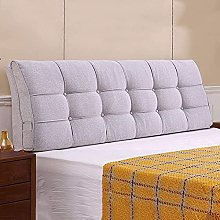 GAXQFEI Bed Backrest Cushion Arc Without Headboard