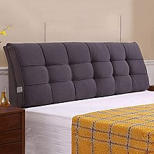 GAXQFEI Bed Backrest Cushion Headboard Double Arc