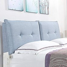 GAXQFEI Bed Backrest Cushion Headboard Soft Case