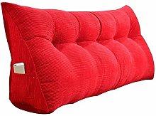 GAXQFEI Bed Backrest Cushion Triangular Wedge
