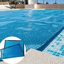 GAXQFEI Blue Solar Pool Cover for Rectangular