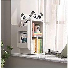 GAXQFEI Book Shelf Children's Bookshelf Floor