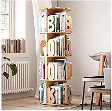 GAXQFEI Book Shelf Children's Bookshelf Wooden