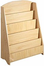 GAXQFEI Book Shelf Kids Book Rack Storage
