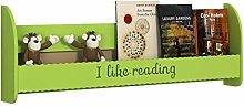 GAXQFEI Book Shelf Wall Mounted Bookshelf