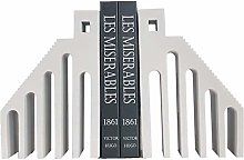 GAXQFEI Bookend Supports Interesting Book Ends, 1