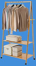 GAXQFEI Coat Rack Stand Clothes Stand Solid Wood