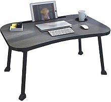 GAXQFEI Computer Desk Creative Laptop Desk Bed