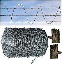 GAXQFEI Decorative Fences Barbed Wire, Garden