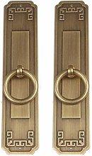 GAXQFEI Door Copper Handle Copper Handle Copper