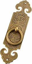 GAXQFEI Door Handle Antique Pure Copper Retro for