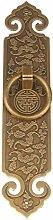 GAXQFEI Door Handle Copper Handle Copper Lattice