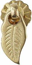 GAXQFEI Door Handle Single Hole Pure Brass Antique
