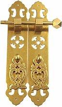 GAXQFEI Door Handle Vintage Pure Copper Antique