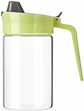 GAXQFEI Drip Free Olive Oil Dispenser, Glass Salad