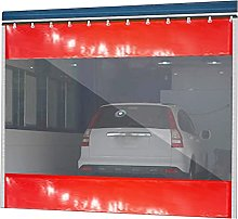 GAXQFEI Garden Waterproof Curtain with Grommet,