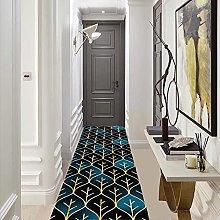 GAXQFEI Hallway Runner Rug, Geometric Non Slip