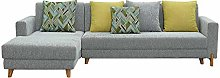 GAXQFEI L Shaped Modular Fabric Couch Living Room