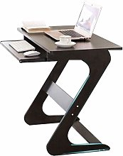 GAXQFEI Laptop Desk Computer Table with Sliding